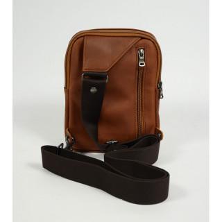 The Fourès Baroudeur PocketS Leather Bag F9169 Fauve