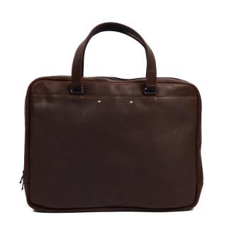 Fourès Baroudeur Satchel Leather Workshops F9515 Cognac