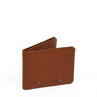 Fourès Baroudeur Workshops Wallet Italian Sans Flap F957 Fauve