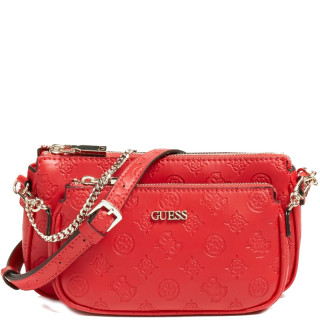 Guess Dayane Petit Bag Red Shoulder