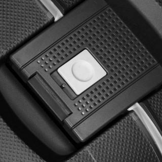 Samsonite S'Cure Spinner 69 cm Valise Trolley 4 Roues-Noir bouton