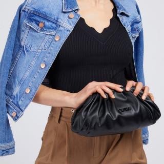 Guess Central City Black Evening Pocket Bag