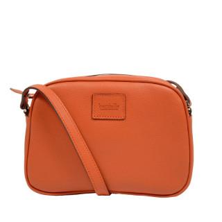 Berthille Minaudière Crossbody Bag Orange