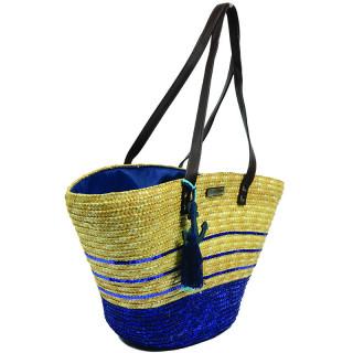 Les Tropéziennes AUD11 Navy Basket Bag