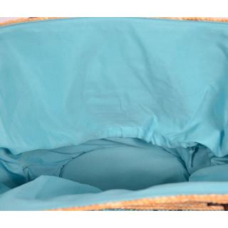 Les Tropéziennes AUD11 Sac Panier Turquoise