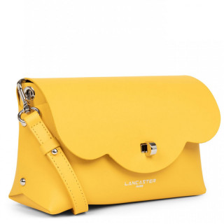 Lancaster City Crossbody Bag 423-48 Yellow In Camel