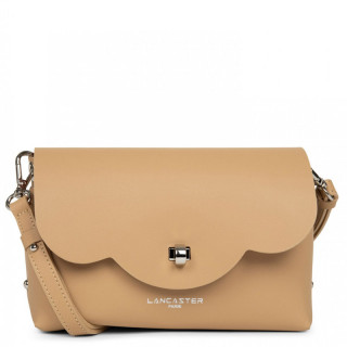 Lancaster City Crossbody Bag 423-48 Natural in Orange
