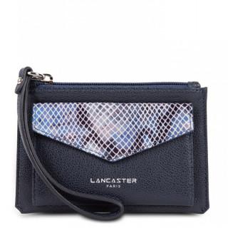 Lancaster Maya Organized Pocket 117-04 Dark Blue Python