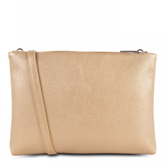 Lancaster Maya Bag Pocket 517-27 Gold Mat Natural Camel
