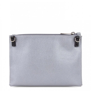 Lancaster Maya Crossbody Bag 517-44 Silver Python
