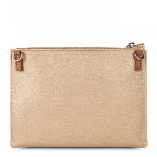 Lancaster Maya Crossbody Bag 517-44 Natural Mat Camel Gold