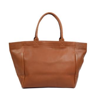 Paul Marius Monpartner M Cabas Bag Natural Leather