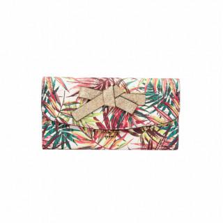 Lollipops Horizon Porte-Chéquier Feuilles de Palmier Multicolore-Doré