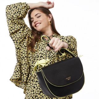 Lollipops Horizon Crossbody Bag Neon Black-Golden