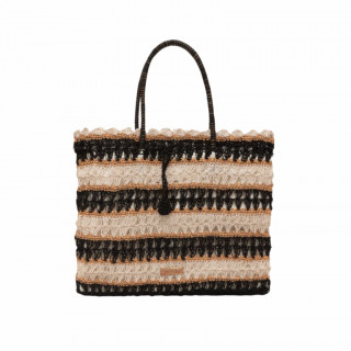 Lollipops Hadele Bag Cabas In Black Crochet