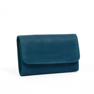 The Fourès Baroudeuse Workshops Wallet Paper Articulated Turquoise