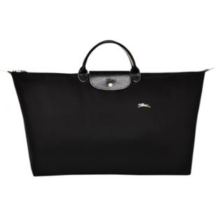 Longchamp The Pliage Club Travel Bag XL Black