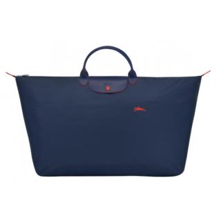 Longchamp The Pliage Club L Navy Travel Bag