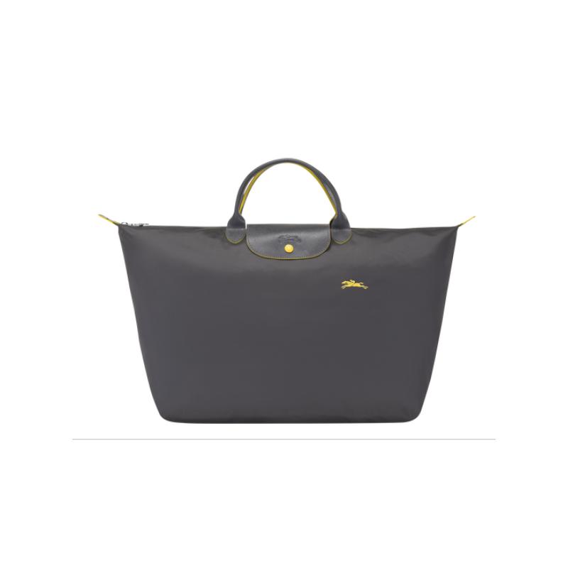 Longchamp Le Pliage Club Sac de Voyage L Gris Fusil
