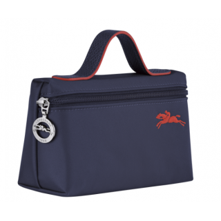 Longchamp The Navy Cosmetic Pocket Pliage