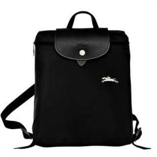 Longchamp The Pliage Club Black Backpack