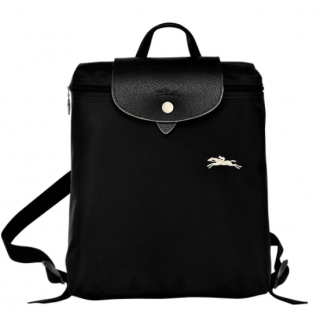 Longchamp Le Pliage Club Sac à Dos Noir