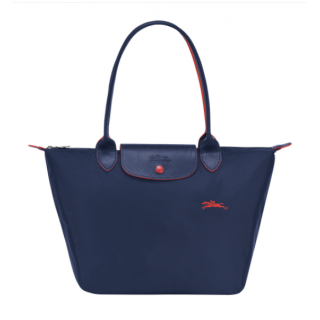 Longchamp The Pliage Club Shopping S Navy