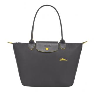 Longchamp The Pliage Club Shopping S Grey Rifle