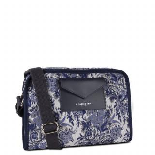 Lancaster Actual Crossbody Bag Vintage Flower 519-89 Blue