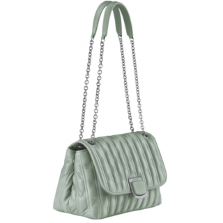Longchamp Brioche Sac Porté Travers M Vert Jade