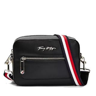 Tommy Hilfiger Iconic T Small Logo BDS Black Logo Bag
