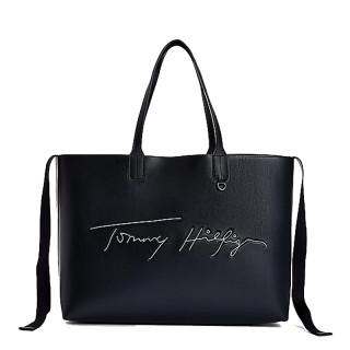 Tommy Hilfiger Iconic Sac Cabas à Signature Brodée Desert Sky