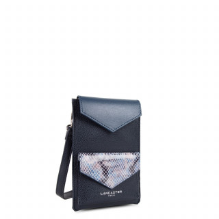 Lancaster Maya Dark Blue smartphone case and Python