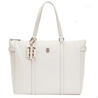 Tommy Hilfiger TH Soft Cabas White Bag