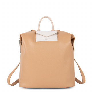Lancaster Maya Backpack 517-48 Nature Ecru and Claire Nude