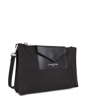 Lancaster Smart Kba Petit Crossbody Bag 2 compartments 516-27 Black