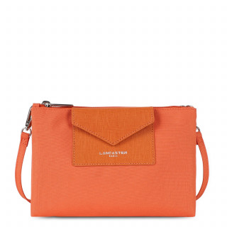 Lancaster Smart Kba Petit Crossbody Bag 2 compartments 516-27 Orange