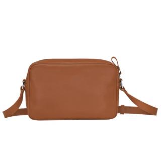 Longchamp Le Foulonné Crossbody Bag Caramel