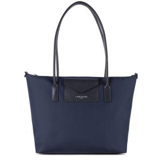 Lancaster Smart Kba Bag Cabas Worn Shoulder 516-30 Dark Blue