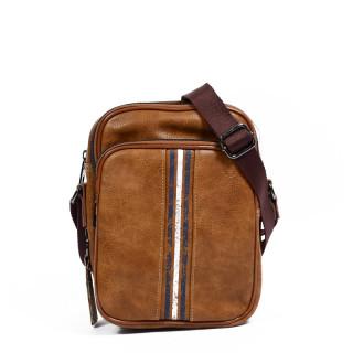 Serge Blanco San Diego Men's Bag SGO13005 Cognac