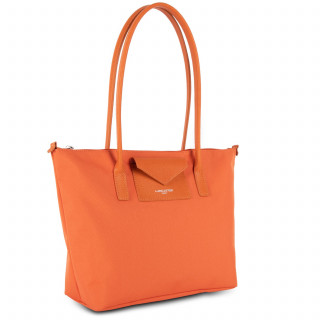 Lancaster Smart Kba Bag Cabas Worn Shoulder 516-30 Orange