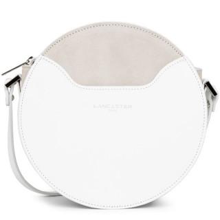 Lancaster Vendôme Moon Crossbody Bag Round 432-10 White