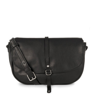 Lancaster Soft Vintage Nova Crossbody Bag 578-25 Black