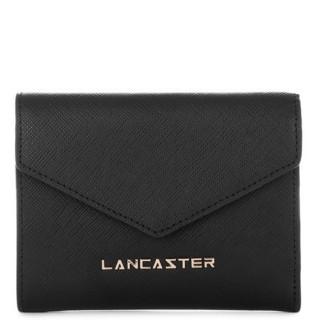 Lancaster Saffiano Signature Portefeuille Dos à Dos 127-02 Noir