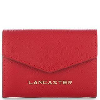Lancaster Saffiano Signature Wallet 127-01 Red