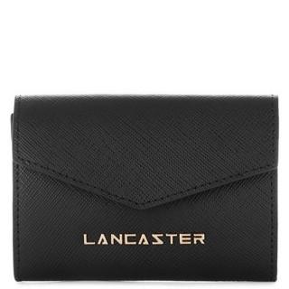 Lancaster Saffiano Signature Wallet 127-01 Black