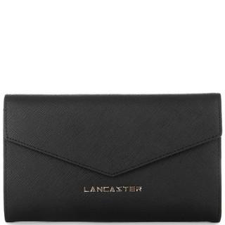 Lancaster Saffiano Signature Tout en Un Dos à Dos 127-03 Noir