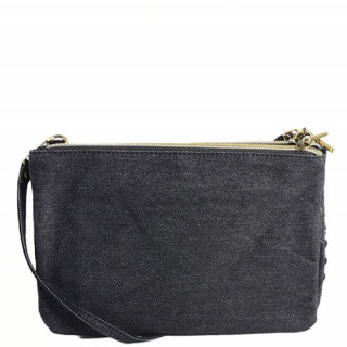 Mila Louise Natasha Tweed Multicolor Black Bag and Pocket