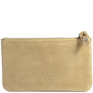 Mila Louise Briny Ecaille GM Wallet Creme Tool Kit