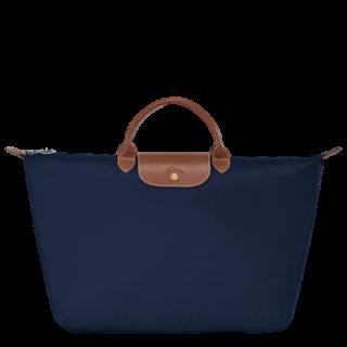 Longchamp The Original L Navy Travel Bag Fold